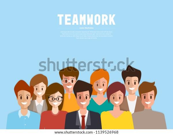 Brainstorming People Concept Background Businessman