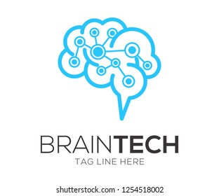 braintech logo vector