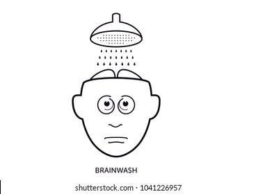 Brainwash shower head