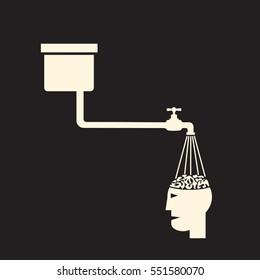 brainwashing, forming desired opinion