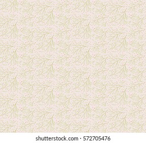 Branch seamless pattern for fabric