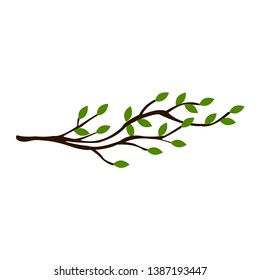 branch tree vector illustration summer clipart autumn clipart nature forest