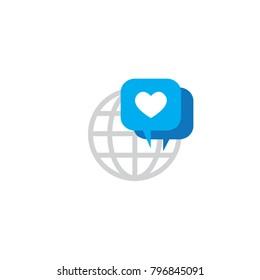 Brand Ambassador Chat Speech Bubble Icon & Influencer Marketing Representative