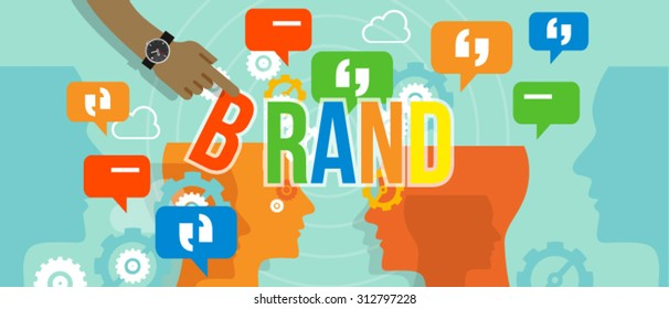 brand building branding business concept