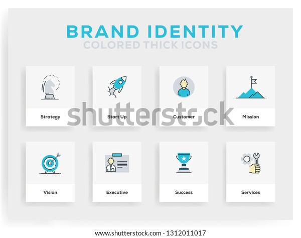 brand identity icon design stock vector royalty free 1312011017 https www shutterstock com image vector brand identity icon design 1312011017