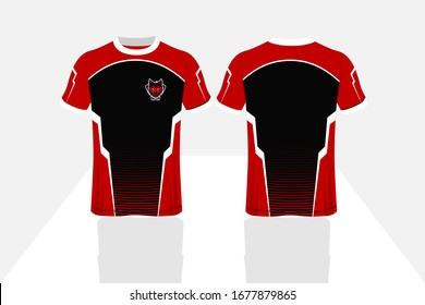 Brand new Sublimation jersey design for custom sports, usable for sports wear sublimation jersey, full editable vector  jersey design and colors,