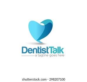 Branding Identity Corporate Dentist vector logo design
