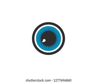 Branding Identity Corporate Eye Care vector logo design - Vector