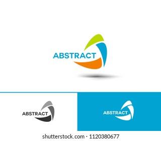 Branding Identity Corporate vector logo design. Abstract emblem, design concept, logo, logotype element for template.
