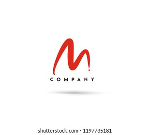 Branding Identity Corporate vector logo M design.