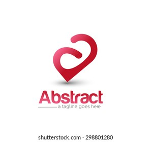 Branding Identity Corporate vector logo A design