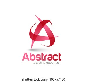Branding Identity Corporate vector logo A design.