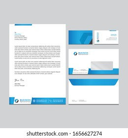 Branding identity template corporate company design, Set for all kind of business vector illustration