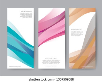 Branding Packaging Nature abstract background, logo banner voucher, Wave Blue Sea fabric pattern. vector illustration.
