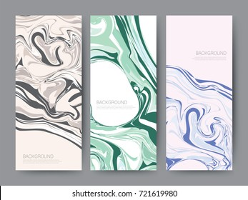 Branding Packaging oil color texture background, logo banner voucher, vector illustration