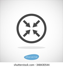 BRAS Icon - Isolated Vector Illustration. Simplified line design.