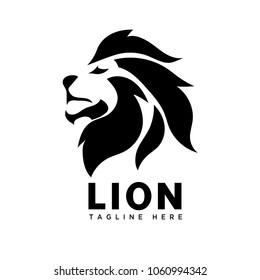 brave part head lion logo