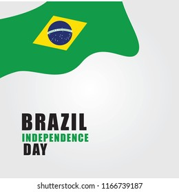 brazil independence day design template