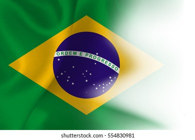 Brazil national flag background