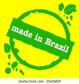 Brazil rubber stamp