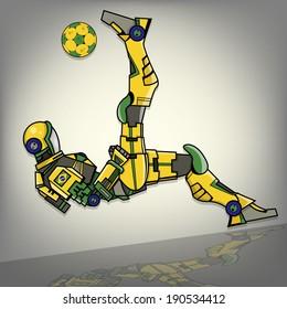 Brazilian Football Robot