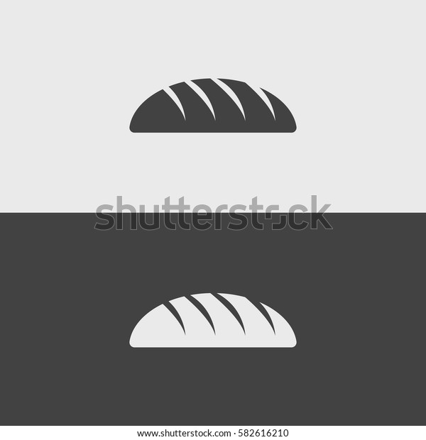 Bread black and white icons.illustration isolated vector sign symbol