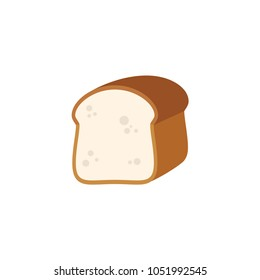 Bread flour diet, diets vector illustration icon symbol flat cartoon character style
