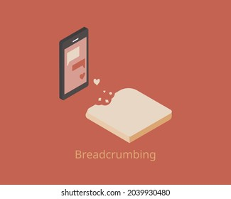 breadcrumbing relationship is the act of sending out flirtatious, but no committal social signals
