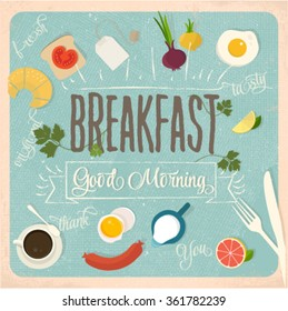 Breakfast design set