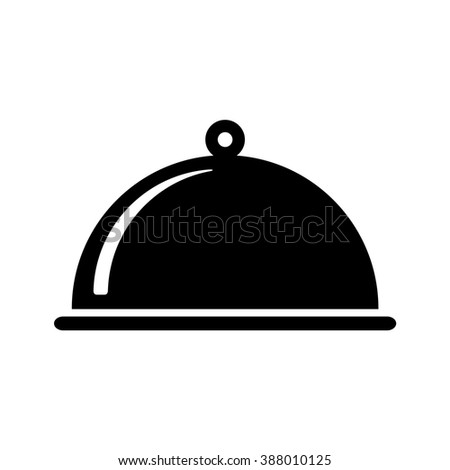 27829561ab69 Breakfast Hotel Black White Vector Icon Stock Vector (Royalty Free ...