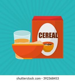 Breakfast icon design - Shutterstock ID 392368453