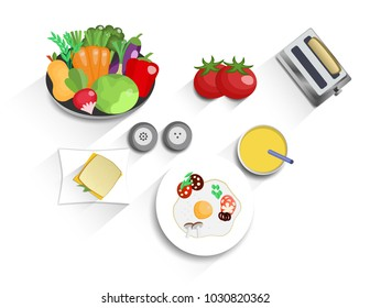 Healthy Eating Plate Images Stock Photos Vectors