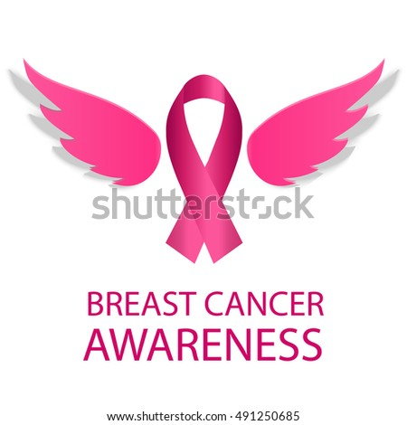 Breast Cancer Awareness Month Pink Ribbon Stock Vector Royalty Free