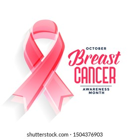 breast cancer awareness month poster design concept