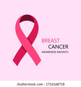 Breast Cancer Awareness Vector Illustration