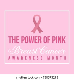 Breast cancer day background design