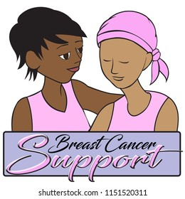 breast cancer support women