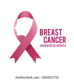 Breast Cancer Women Vector Illustration