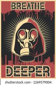 Breathe Deeper. Original Ecology Problem Poster