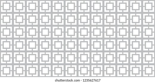 Breeze Block Pattern, Concrete Breezeblock Repeating Background, Mid Century Design Element, Modernism Week, Clean & Modern Block Layout, Geometric Seamless Wallpaper Pattern, Square Tile Backdrop Art