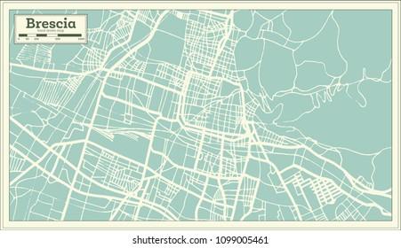 Brescia Map Vector Images Stock Photos Vectors Shutterstock