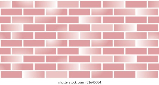 Brick wall pattern tile. Fill any size space!