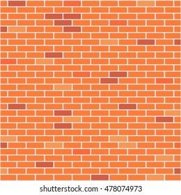 Brick wall realistic background