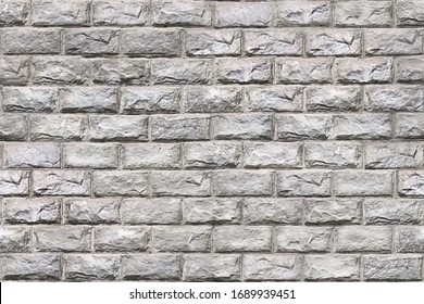 Brick wall. Realistic brickwork texture. Seamless pattern. Vintage noisy background. Grunge brick wall. Brickwall solid surface. Stonewall rough structure for designs backgrounds. Vector illustration