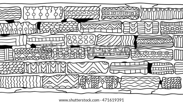 bricks coloring book adults zentangle 600w
