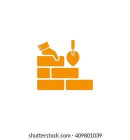 Bricks icon vector illustration eps10.