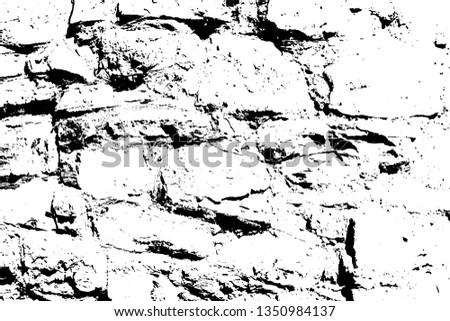 Bricks Stones Vector Texture Abstract Background Stock