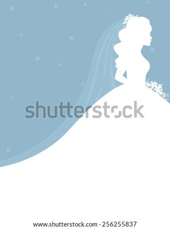 Bridal Shower Wedding Invitation Card Background Stock Vector