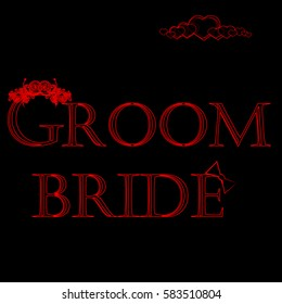 bride and groom, cover design, popular, exclusive