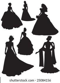 Bride silhouettes 1